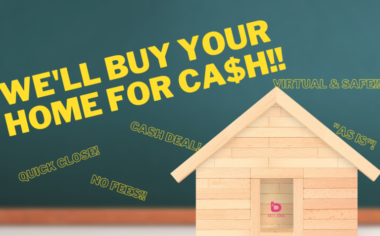 bLOG: WE BUY YOUR HOME FOR CA$H!!