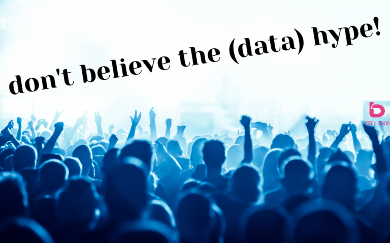 bLOG: Don't Believe the (Data) Hype!