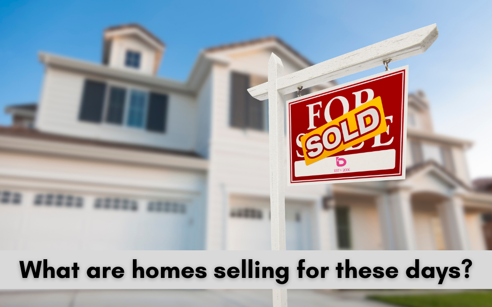 bLOG: But What Are Houses Actually Selling For!?